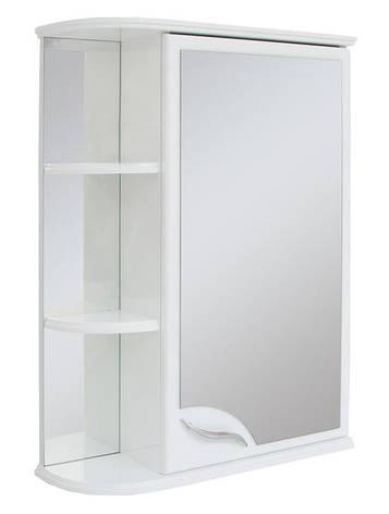 Зеркальный шкаф для ванной комнаты Базис 55-01 правый ПИК, фото 2