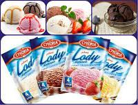 Порошок для приготовления мороженного Lody (4 порции)