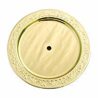 AMY Deluxe (Германия) Тарелка для кальяна большая Gold