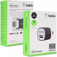 Сетевое зарядное устройство Belkin 1А + USB кабель iPhone 5/6