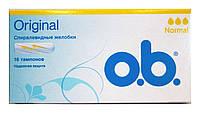 Тампоны o.b. Original Normal (3 к.) - 16 шт.