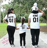 Family look футболка мама папа ребенок, фото 1