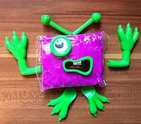 Пластилин Жвачка для рук Комплект с Чудиками Конструктор Умный пластилин Хендгам цвет ассорти