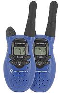 Комплект из 2х раций Motorola T5720 + зарядное устройство