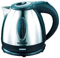 Чайник электрический 1,2 л Vitalex VT-2010 электрочайник компактный бытовой чайник ( Виталекс )