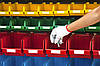 Купить ящики для метизов в Киеве, складские ящики, пластиковые лотки