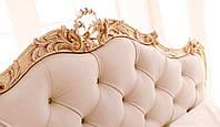 Кровать двуспальная LAUREN - резная из массива дерева, фото 1