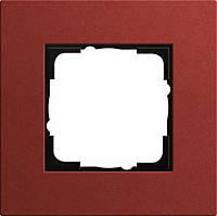 Установочная рамка 1-местная Gira Esprit (Линолеум-Мультиплекс) Красный (0211229)