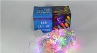 Новогодняя многоцветная светодиодная гирлянда LED 500 M ( 500 светодиодов )