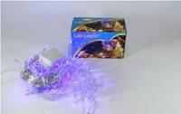 Новогодняя светодиодная гирлянда 120 NET B Сетка ( 120 светодиодов ) Цвет синий