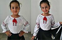 Вышиванка украинская для девочки,8-12 лет