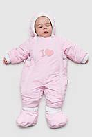 Качественный комбинезон с капюшоном для  новорожденных Софи-Тошка. Разные цвета