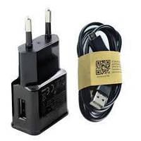 Зарядное устройство для мобильных телефона SAMSUNG (блок + кабель)
