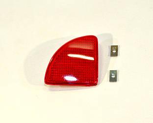 Відбивач в задньому бампері (L, лівий) на Renault Kangoo 2003->2008 — Polcar (Польща) - O 6060876E