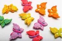 """Липучки """"ажурные бабочки"""""""