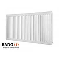 Радиатор стальной RADO, тип 22, 500x400 мм боковое подключение