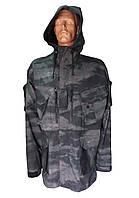 Куртка-парка с капюшоном (черный атакс)