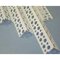 Защитный угол 25 х 25 х 3000 пластиковый перфорированный