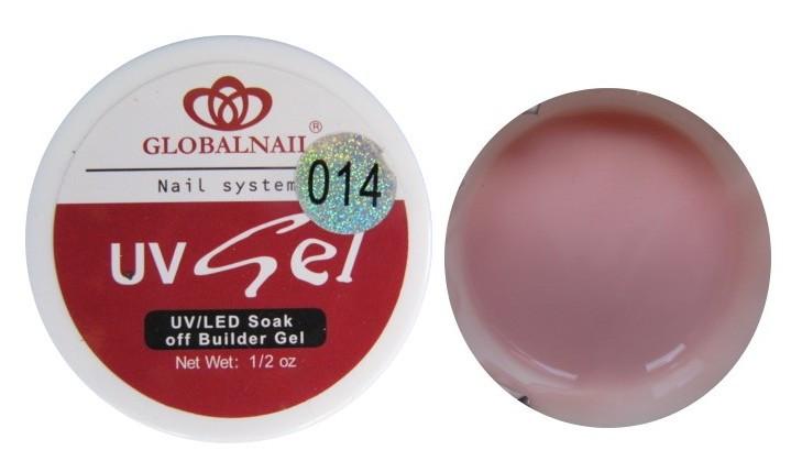 Гель Global 15 мл бежево-розовый камуфлирующий