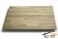 Деревянный мебельный щит из дуба, сращенный 4000*400*40 мм