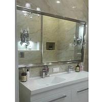 Зеркало с бра для ванных комнат