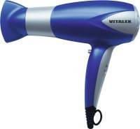 Фен для волос синий Vitalex VT-4002 фен для укладки волос ( Виталекс )