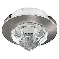 Светильник HOROZ ELECTRIC DOWNLIGHTS LED 1W 2700/6400K мат.хром