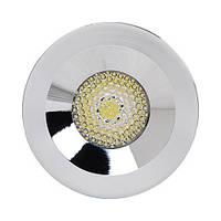 Светильник HOROZ ELECTRIC DOWNLIGHTS LED 3W 2700/6400K хром, мат.хром