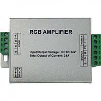 Усилитель контроллера RGB HOROZ ELECTRIC AMPLIFIER-24A 288W 12V-24V IP33 24A
