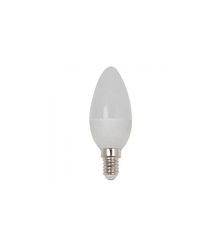 Лампа свеча HOROZ ELECTRIC ULTRA-6  SMD LED 6W 6400K E14 480Lm 175-250V