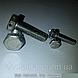 Болт контровочный с отверстиями в головке DIN 962 форма SK, ISO 7378, фото 9