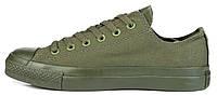 Мужские кеды Converse Chuck Taylor All Star (конверсы) зеленые