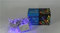 Новогодняя светодиодная гирлянда LED 200 B ( 200 светодиодов ) Цвет синий