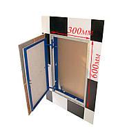 Ревизионный люк под плитку нажимной ФРН 30х60