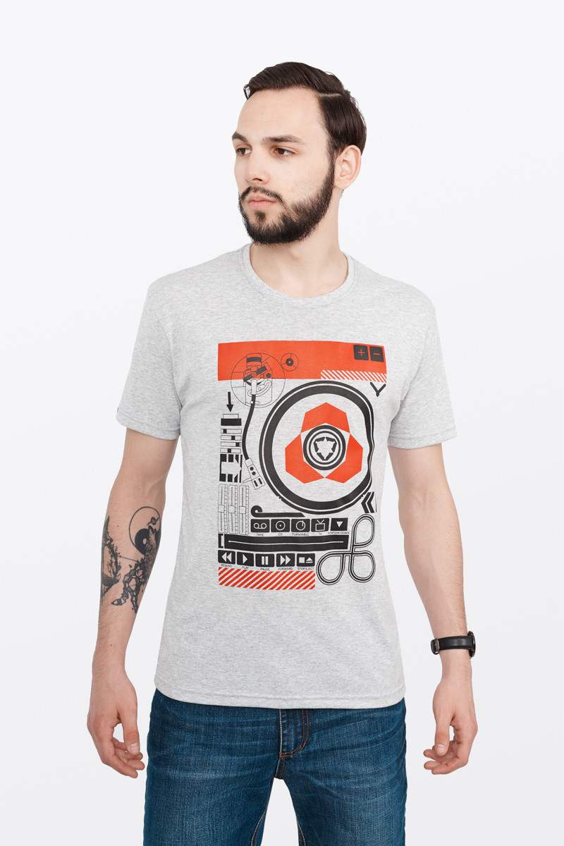 3b938dc56d5 Мужская футолка Urban Planet DJ (Диджей) -