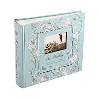 Свадебный фотоальбом Lovestory 200ф 10х15 Голубой