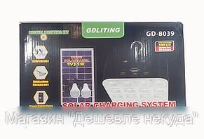 Аккумулятор GD 8039 солнечная панель, аккумулятор на солнечной батарее!Опт, фото 2