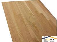 Деревянный мебельный щит из ясеня, сращенный 1000*1000*40 мм