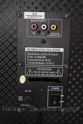 Акустическая система USBFM-M5!Опт, фото 2