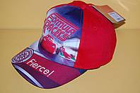 Бейсболка Тачки красная Код 01401 Размеры 52-54 см