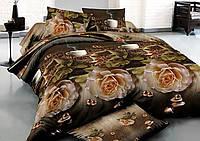 """Комплект постельного белья """"Ранфорс"""" семейный размер  284"""