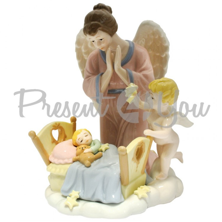 Фигурка статуэтка  фарфоровая колекционная «Сладких снов» h-19 см.