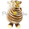 Фигурка на пружинке «Кот с мишкой» h-26 см., фото 2