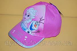 Бейсболка Frozen розовая Код 19109 Размеры 52, 54 см