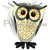 Фигурка на пружинке «Мудрая сова» h-23 см., фото 2