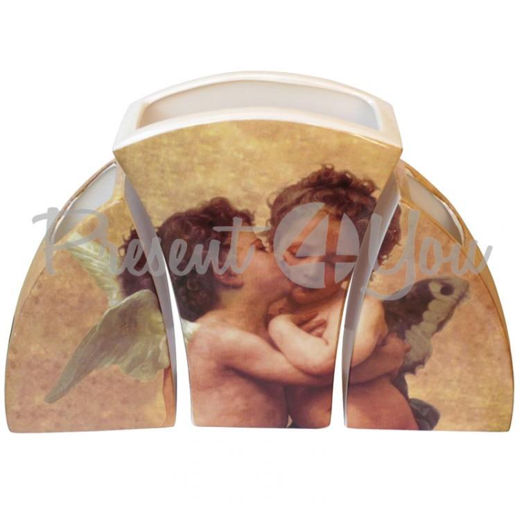 Набор вазочек «Амур и Психея» h-21 см.