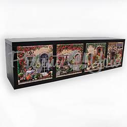 Комод (4 ящика) «Прованс»,18х15,5х68 см (263-9701B)