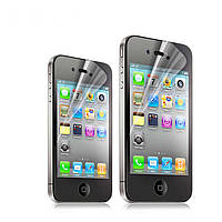Защитная пленка iPhone 4g 4s 4 3d Двухсторонняя