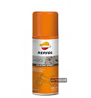 Силиконовая смазка Repsol Moto Silikone Spray ✓ аэрозоль 400мл.