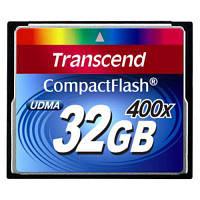 Карта памяти Transcend 32 GB 400X CompactFlash Card (TS32GCF400)